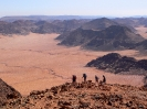 Hiking with a View - Wadi Rum Desert Tours