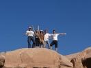 Tourists in Wadi Rum _3