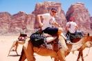 Tourists in Wadi Rum _6
