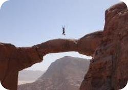 Wadi Rum Desert Tours Burdah Bridge